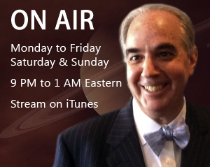 The John Batchelor Show is on the air Saturdays and Sundays between 9pm and 1am EST. Click here for instructions on how to stream the show on iTunes.